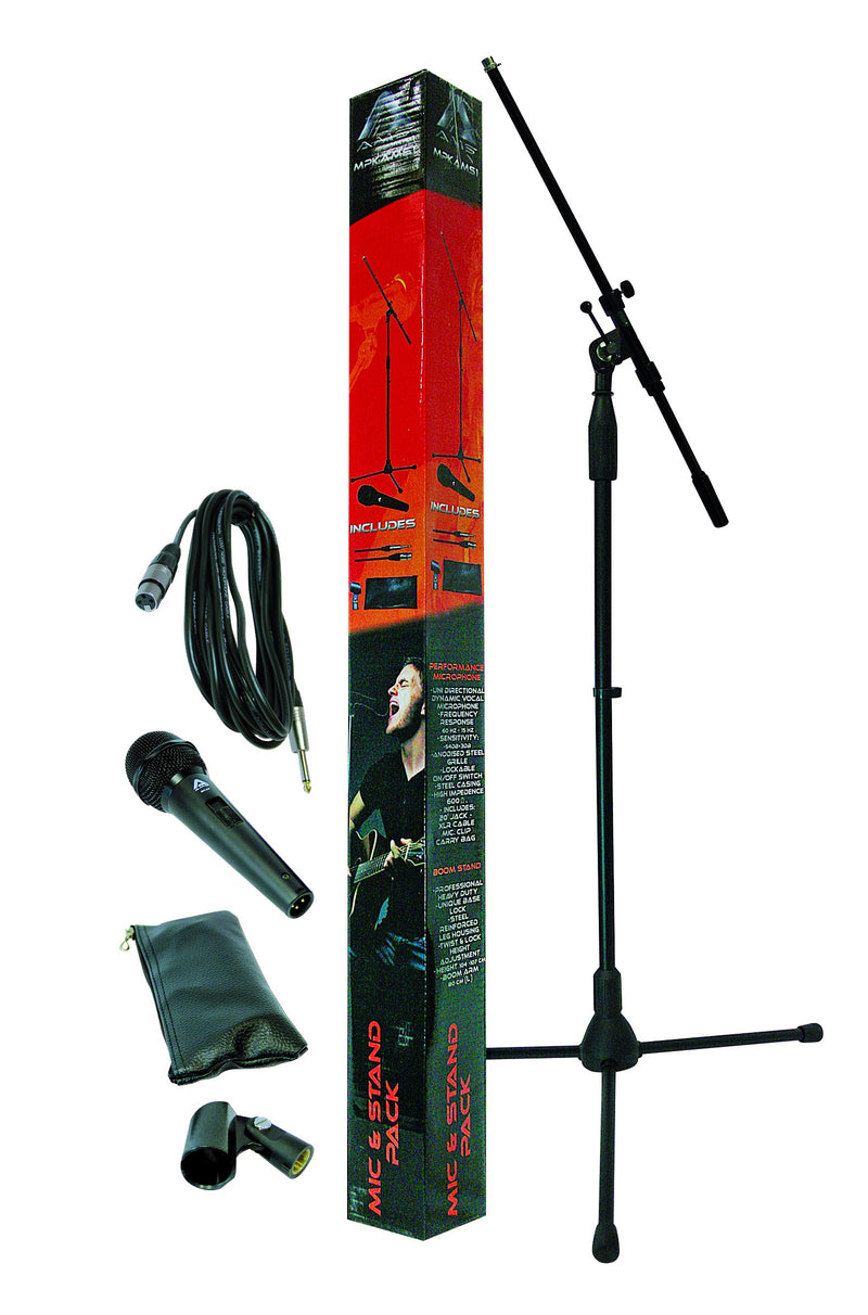 Carson Mic and Stand Pack.
