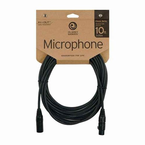 Planet Waves Microphone Cable 10ft