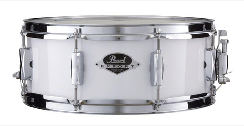 Pearl Export Series snare drum 14×5.5 – Pure White
