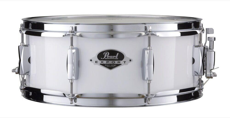 Pearl Export Series snare drum 14×5.5 – Pure White at Five Star Music 102 Maroondah Highway Ringwood Melbourne Music Guitar Store.