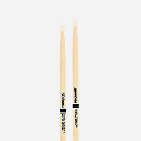 5b Nylon Tip Drumsticks The Natural American Hic