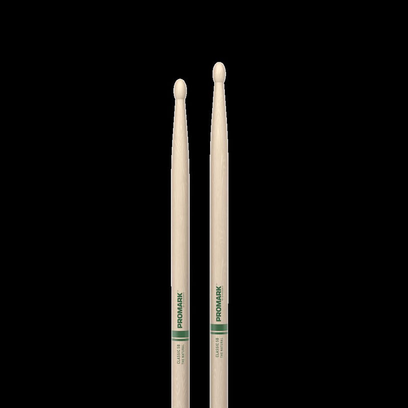5b Wood Tip Drumsticks The Natural American Hick.