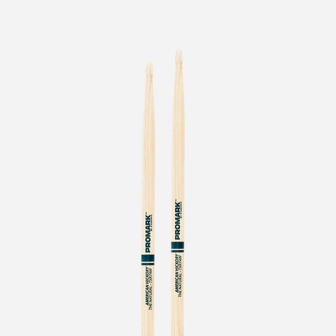 7a Wood Tip Drumsticks The Natural American Hick