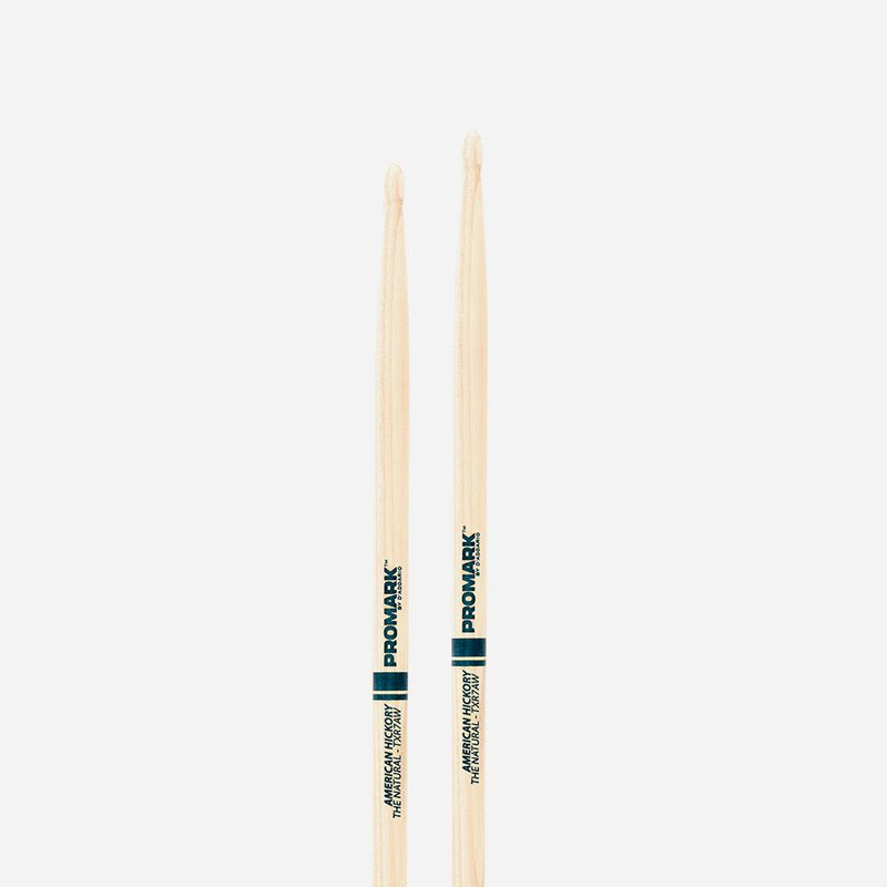 7a Wood Tip Drumsticks The Natural American Hick.