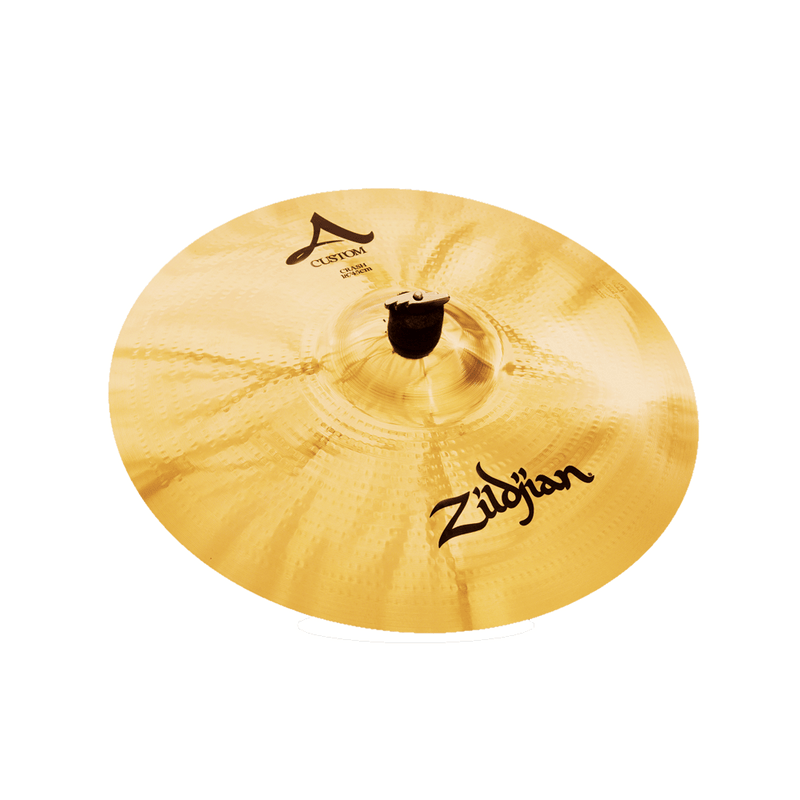 "Zildjian A Custom 18"" Crash Cymbal."