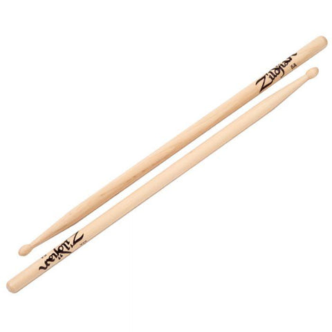5a Wood Tip Drumsticks Natural