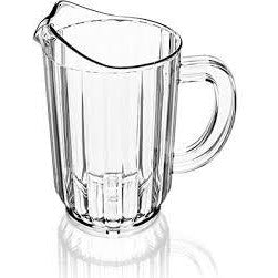 Beer Pitcher 32oz PC Water Pitcher, Clear - BartechCo