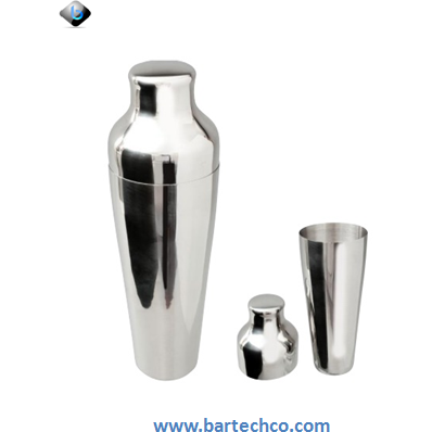 MEZCLAR ART DECO SHAKER STAINLESS STEEL 550ML - BartechCo