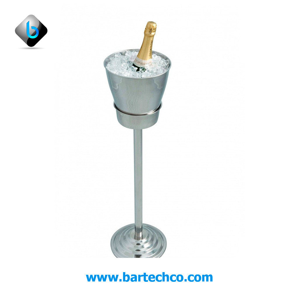 WINE /CHAMPAGNE BUCKET WITH STAND - BartechCo
