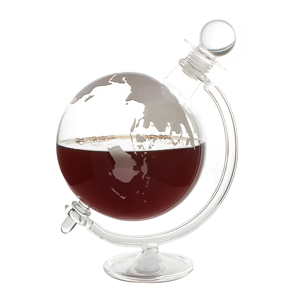 GLOBE DECANTER with CRADLE 700ml - BartechCo