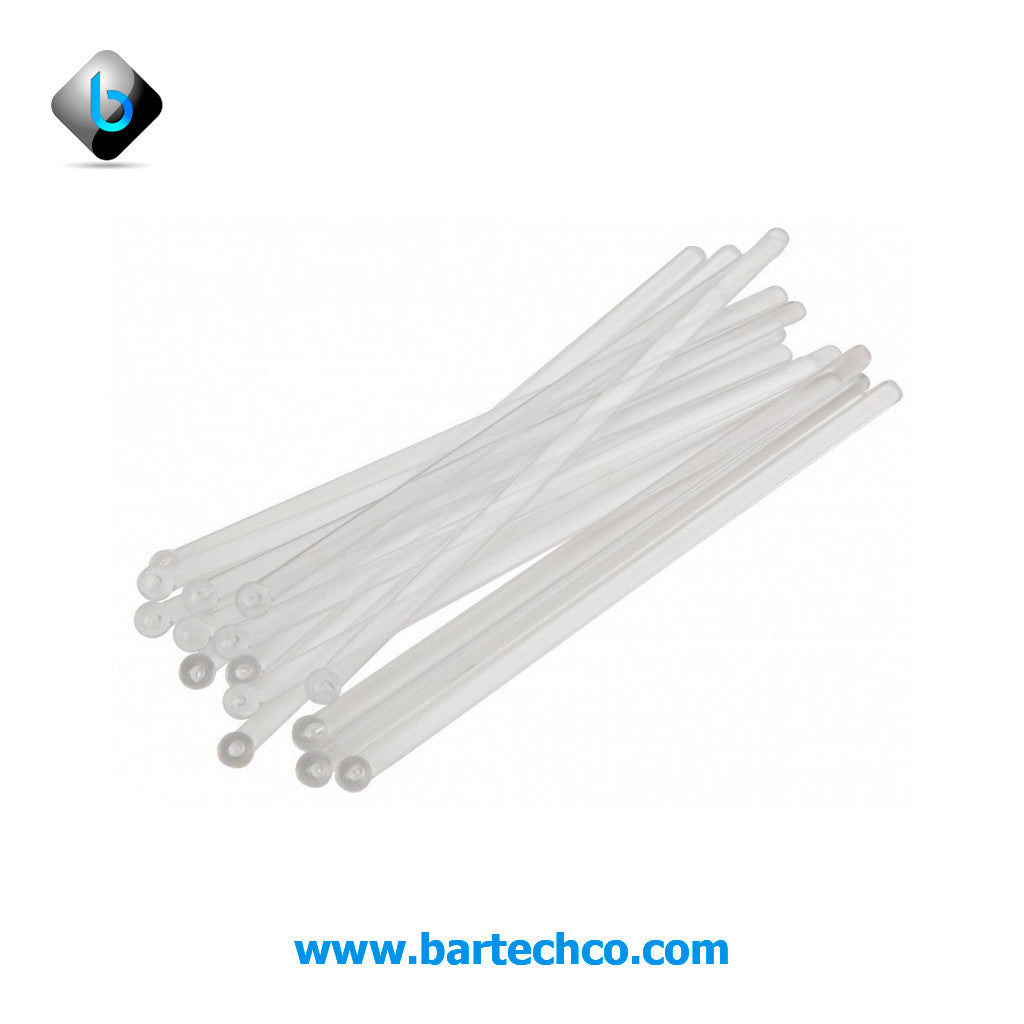 FLAT BALL STIRRERS CLEAR 6""