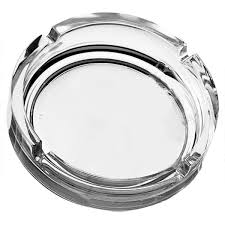 Ashtray Stackable Clear - BartechCo