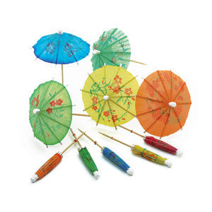UMBRELLA PICKS 144 PCS - BartechCo
