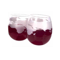 Mixology Globe Rocker Glasses 2pcs/Pack