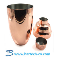 Cobbler Shaker, Copper