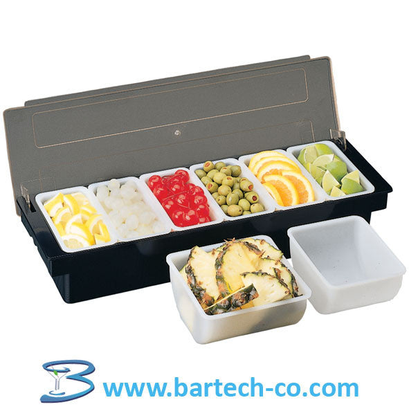 Condiment Tray 6 Inserts - BartechCo