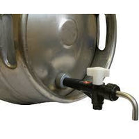 "Turn Down Spout 3/4"" BSP 1/2"" O/D"