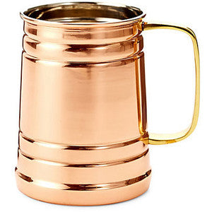 Copper Beer Mug 400cc - BartechCo