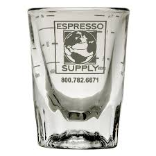 Espresso Shot Glass With Logo 2 oz - BartechCo