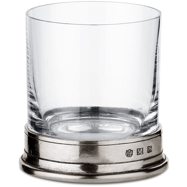 Pewter Old Fashioned Glass 24 Cl - BartechCo