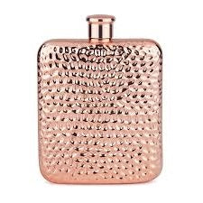 Copper Plated Luxe Hip Flask - BartechCo
