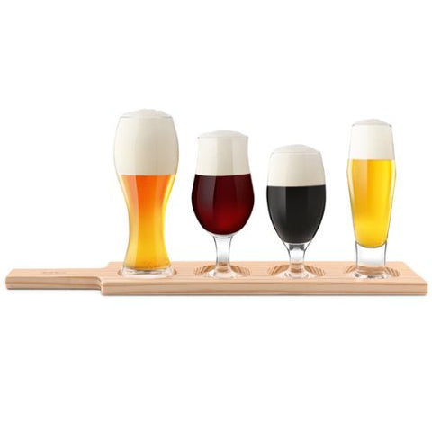 Final Touch 6 Pieces Beer Tasting Set