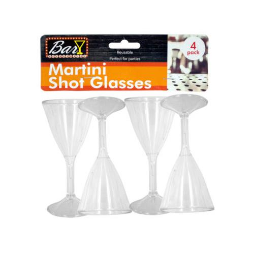 Plastic Martini Shot Glasses ( Case of 36 )