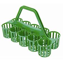 Glass Carrier – Green