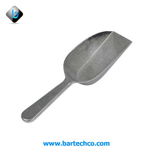 ALUMINUM SCOOP - FLAT BOTTOM (4 oz)