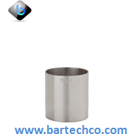 THIMBLE MEASURE 30ML SS - BartechCo