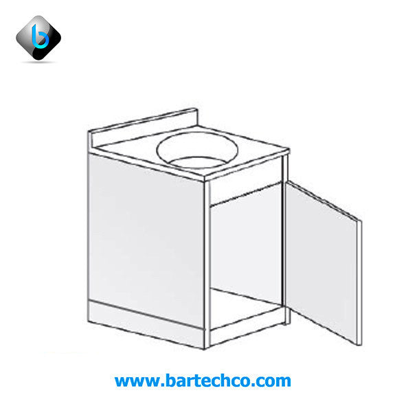 Counter W / Round Bowl - BartechCo