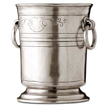Pewter Ice Bucket Engraved - BartechCo