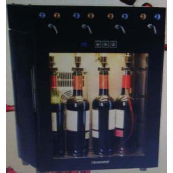 Wine Dispenser 4 Bottles Black