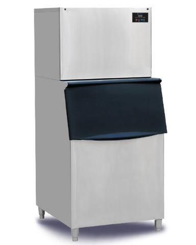 Ice Cube Maker - 160 Kg/ Day Production Storage 150 Kg