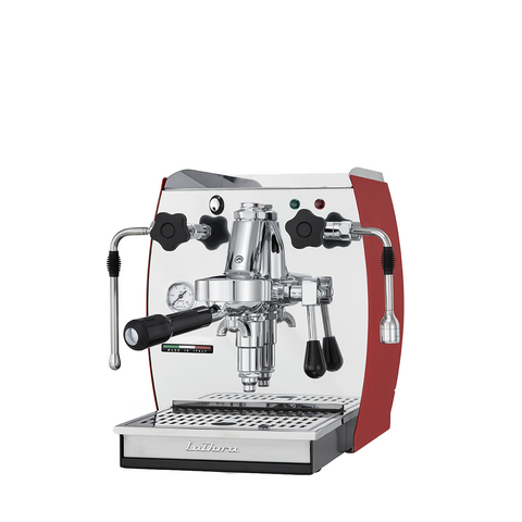 Espresso Machine Single Group -La Dora -Red - BartechCo