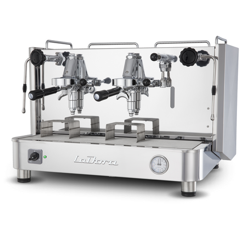 Espresso Machine Semi Automatic 2 Group-La Dora-Levetta-Inox - BartechCo