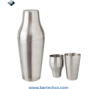 MEZCLAR FRENCH SHAKER STAINLESS STEEL 600ML