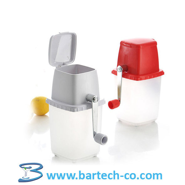 ICE CRUSHER MANUAL - BartechCo