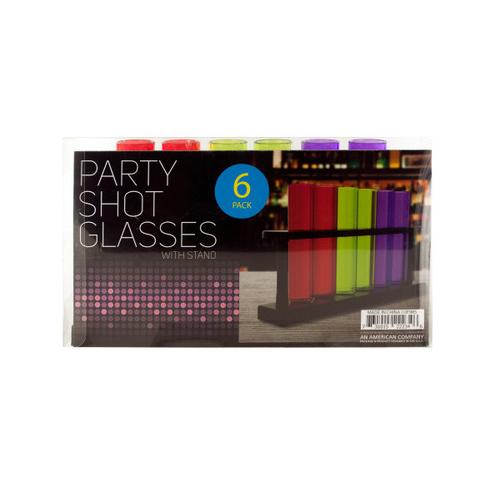Test Tube Party Shot Glasses with Stand ( Case of 8 )