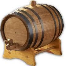 Oak Barrel French 30 Gallon
