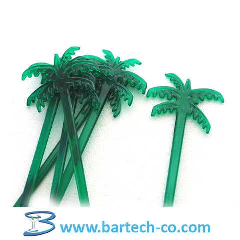 PALM TREE STIRRERS (200 counts) - BartechCo