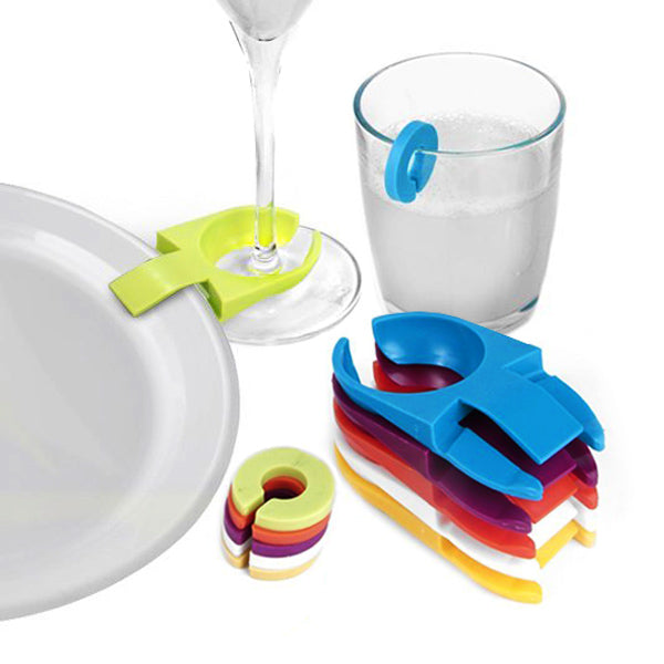 Mixology Plate Clips and Glass Marker Set