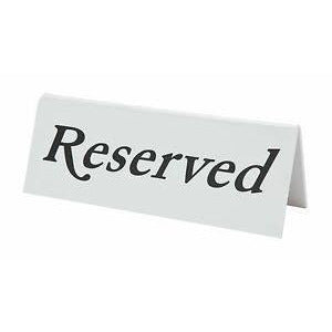 Plastic Reserved