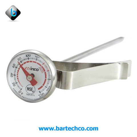 FROTHING THERMOMETER SMALL DIAL - BartechCo