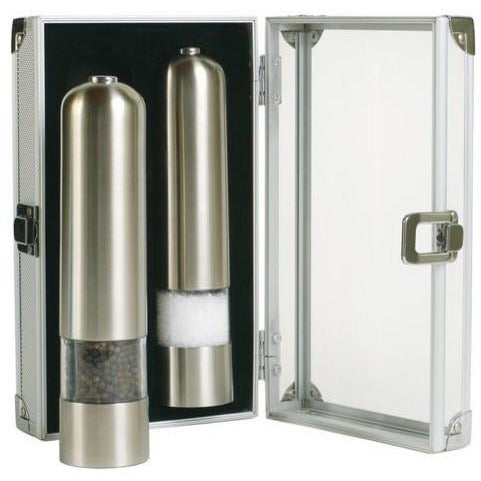 Combo Deluxe Electric Pepper/Salt Mill - BartechCo