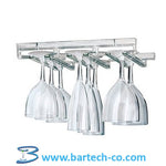 STEMWARE GLASS HANGING RACK ACRYLIC