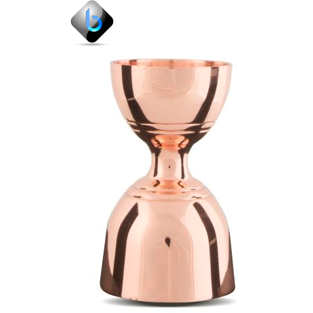 JIGGER BRITISH STYLE COPPER - LEOPOLD STYLE