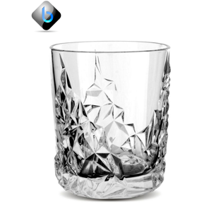 Thumbler Diamond Glass 365ml - BartechCo