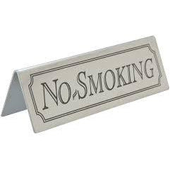Stainless Steel No Smoking - BartechCo