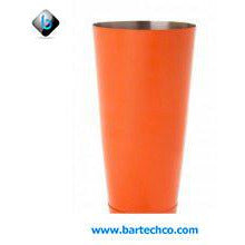ORANGE POWDER COATED BOSTON CAN 28OZ